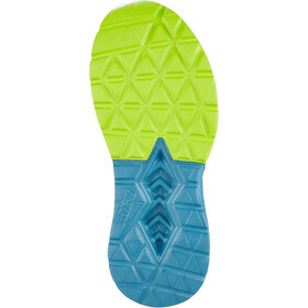 Hoka One One Mach 2 Running Shoes Herre storm blue/lime green
